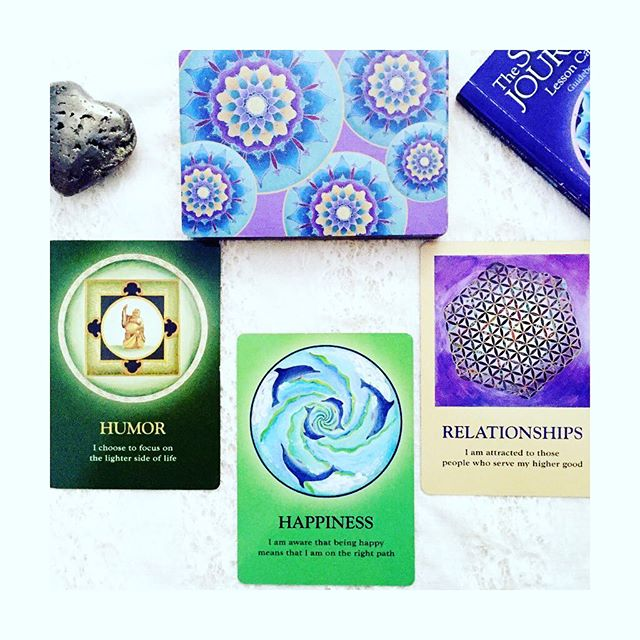 A few of us here at #SoulScape had the privilege of attending the @jamesvanpraagh event this past Friday. It was a beautiful evening of #spirit , #healing , #laughter and #love . We are continuing with his #messages this morning with his #thesoulsjourney #oracledeck , a beautiful deck filled with #mandala and #insight !