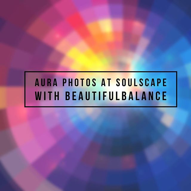 Join us this Saturday August 27, 2016 from 10-2 for more #auraphotos with Jeanine of Beautiful Balance! Spaces are limited, call to reserve your spot! 760.753.2345