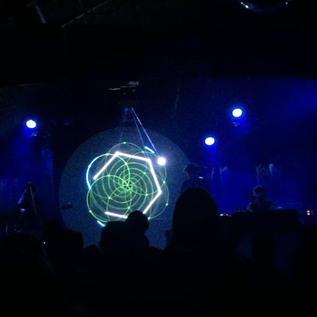 Did anyone else experience the @floatingpoints show last night at the @bellyuptavern ?! Sound and #sacredgeometry ?!?! #amazing!!!!
