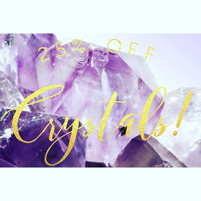 It's the last day of our #13 year #anniversary #sale ! #thankyou again to this #beautiful #community for sharing so much #love with us! #today (October 29, 2016) enjoy 25% off #crystals !