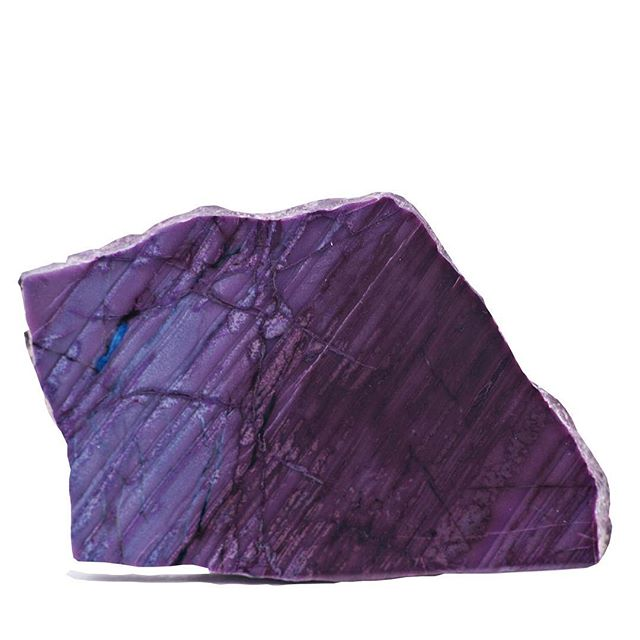 This big slab of #sugilite is another #gem of an example of the #treasures we have on display tonight from 6-8 at the store!