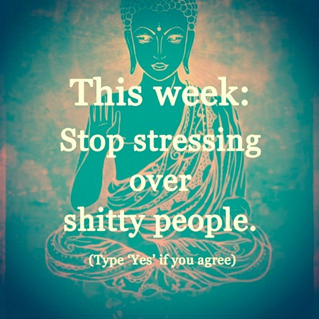 Let's all agree to just stop. Forever. #soulscapewisdom #positivityfairy #chakBLOCKER #fundaymonday
