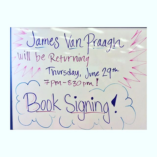 We're excited to have James back at #soulscape ! Come hang out with us and meet James Van Praagh on Thursday June 29, 2017 from 7-8:30pm!