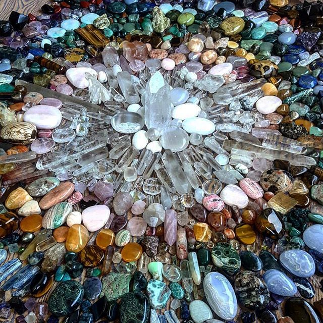 I have a BIG secret, and it's killing me not to reveal it yet! It involves crystals. That's all I will say about it
