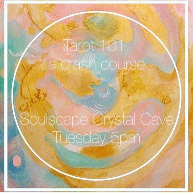 This Tuesday come join us at our new Crystal Cave!  You will walk away with a deeper understanding and a connection to the gift that is in each of us! All decks will be 25% off for participants, and you will be able to try out all the decks you want until you find the one that resonates with you!
