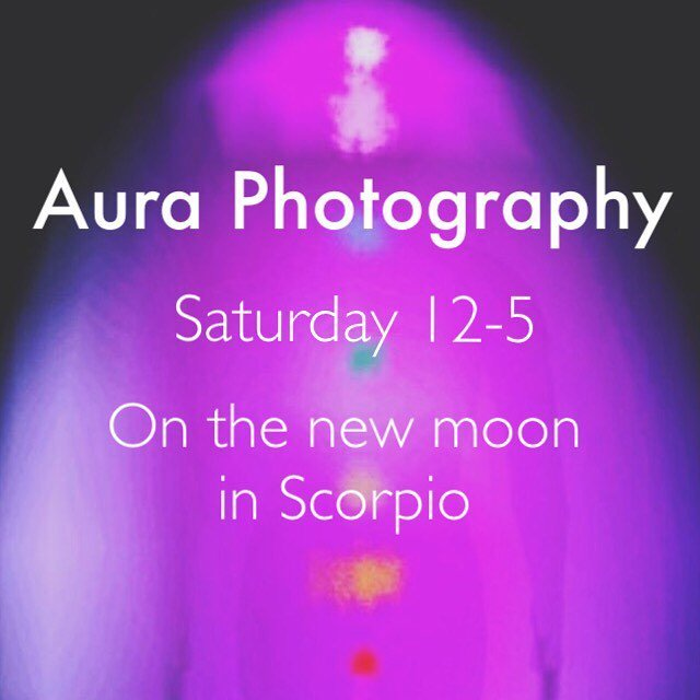We've got a new moon coming to us this weekend that just so happened to perfectly aligned with our Aura Photography event this Saturday! Come enter this new cycle with a deeper understanding of your soul with the help of intuitive healer @beautifulbalance2 she will be with us at our Crystal Cave from 12-5 on Saturday November 18th to offer her aura Photography and incredible intuitive insight. You won't want to miss this opportunity! Spots are filling up fast so call 760 753 2345 to save your spot!