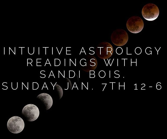 This Sunday we welcome #Intuitive #Astrologer Sandi Boi to the @soulscapecrystalcave . Get some #astrological insight on your new year with a reading!