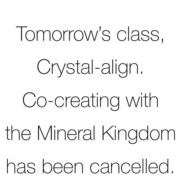 ...but our #crystal #sale just kicked off and that's plenty of reason to visit us! 44% off crystals for 33 days now thru 5/31/18! BONUS: for every $50 you spend on crystals, you earn $5 in Crystal Cave Cash for use at the @soulscapecrystalcave ! Exclusions apply. Sale excludes jewelry, grid sets, salt lamps, pendulums and previous purchases. No holds during sale. Crystal sales are final. Crystal Cave Cash has no cash value.