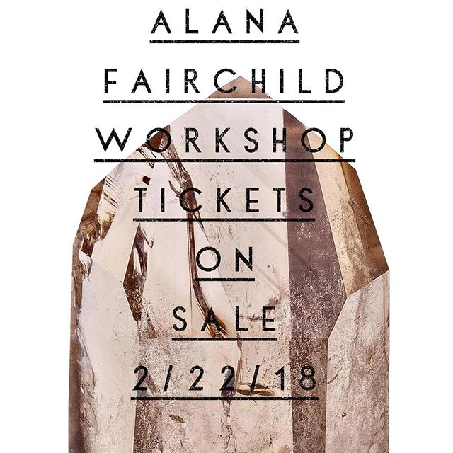 More details are here! Early Bird tickets for this rare workshop will go on sale at Soulscape 10AM on 2/22/18-3/31/18 for $149 per ticket. Standard tickets will go on sale 4/1/18-6/5/18 at SoulScape for $169 per ticket.
