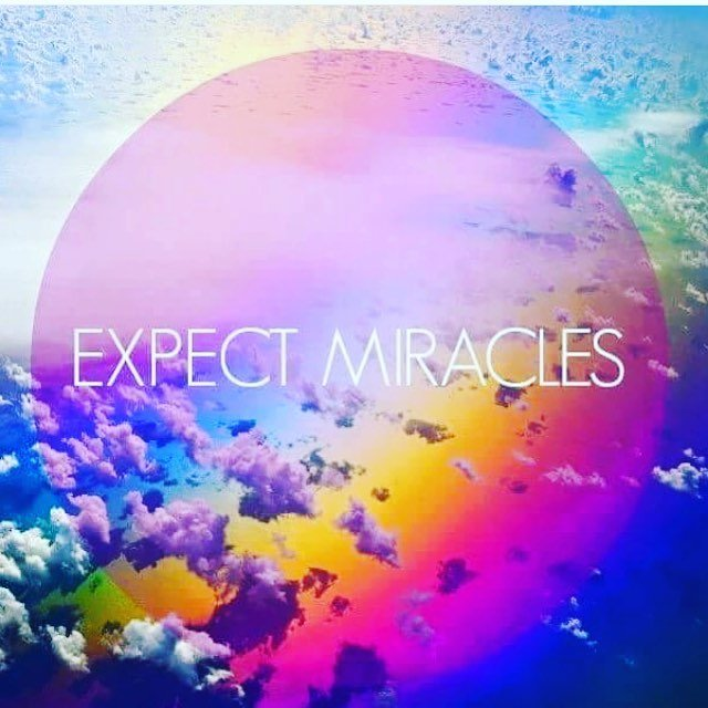 Nothing less. #miracles.