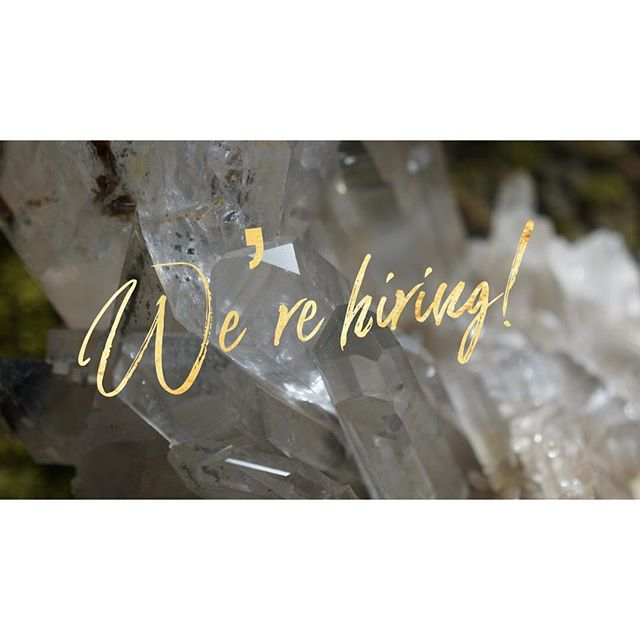 We are looking for super cool people to come work with us at Encinitas' #crystalkingdom ! Stop by #soulscape , drop off your resume and take the applicant quiz! Part time positions, mostly nights and weekends, start ASAP.